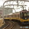 寝屋川市駅にて京阪8000系