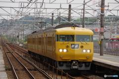 東福山駅にて117系