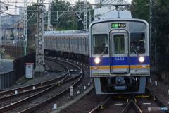 北野田駅にて6200系