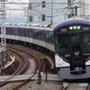 八幡市駅にて京阪3000系