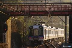 九度山駅にて2000系