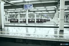 梅田駅にて
