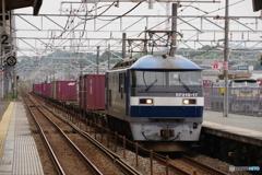東福山駅にてEF210