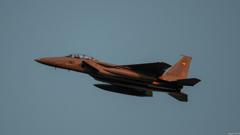 会社帰りのF-15