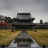 雨の瑞龍寺