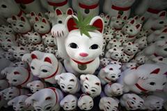 招き猫のお寺