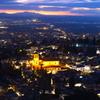 ある街の夕景