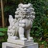 益救神社の狛犬1