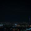 青い塔と宵の明星
