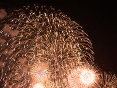 ウラヤスフェスティバルの花火