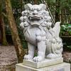 益救神社の狛犬2