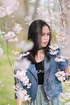 モデル Nesaさん