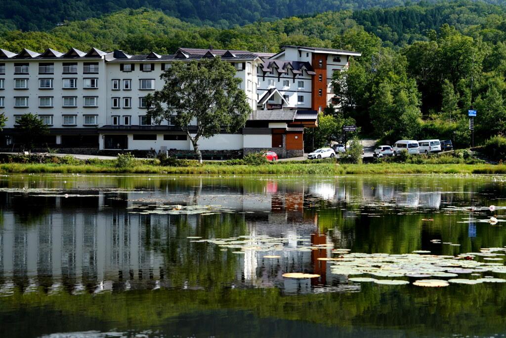 水鏡の志賀レークホテル