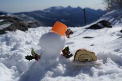 山頂でクリスマス