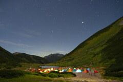 月光の双六池キャンプ場