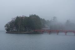 霧の赤城神社