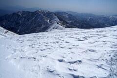 風紋と三国山脈