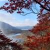 ヤシオ色付く秋の赤城山