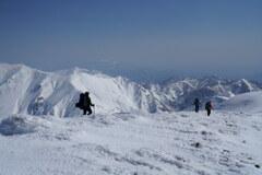仙ノ倉山 冬