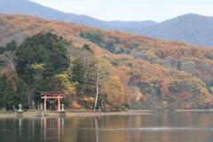 野尻湖の神社
