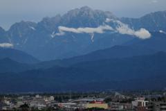 夕方の剱岳
