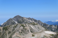 今日の剱岳
