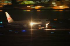 JAL767夜流し