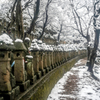 雪の中の五百羅漢 ②