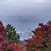 奥比叡ドライブウェイからの琵琶湖