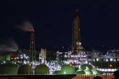 工場夜景 ②