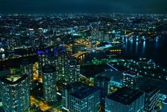 横浜のお決まり夜景