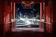 夜中の八坂神社