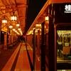 阪急嵐山駅にて…②
