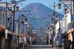 丸裸の富士山