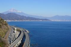 富士山巡りの旅で