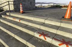 スカイパークの階段はいつ修復されるのだろう