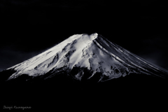 富士 monochrome