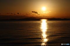 瀬戸の夕陽