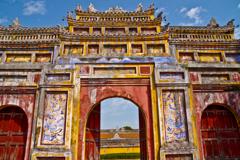 ベトナム・フエ王宮の景色