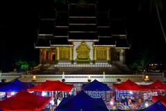 ルアンパバーンの夜市