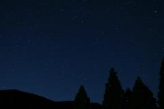 上津江の星空