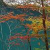 龍王峡の紅葉②