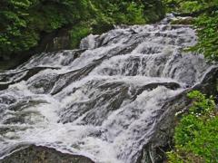 竜頭の滝 ② 流れ