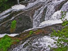 竜頭の滝 ③ 急流