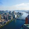 東京散歩 (24) 聖路加タワーからの展望