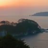 三陸海岸の夜明け