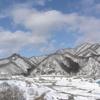 車窓から見た 南会津の山河