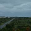 風力発電と一本道
