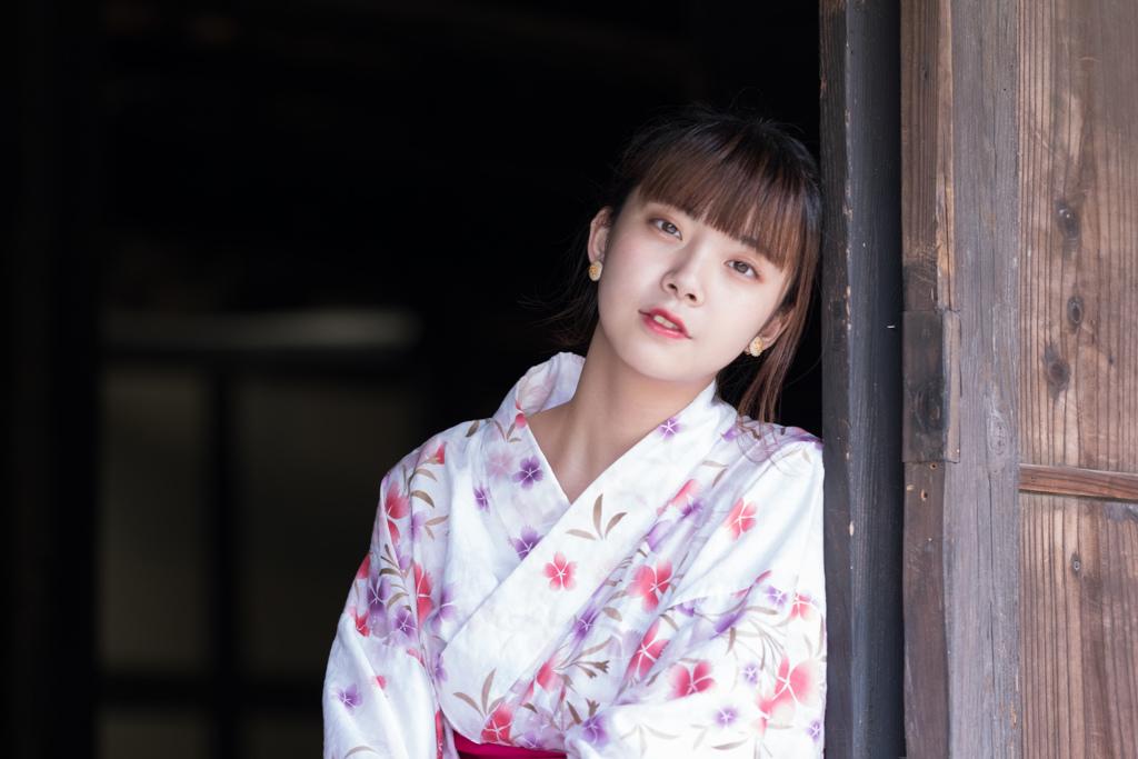 浴衣と日本の女性5
