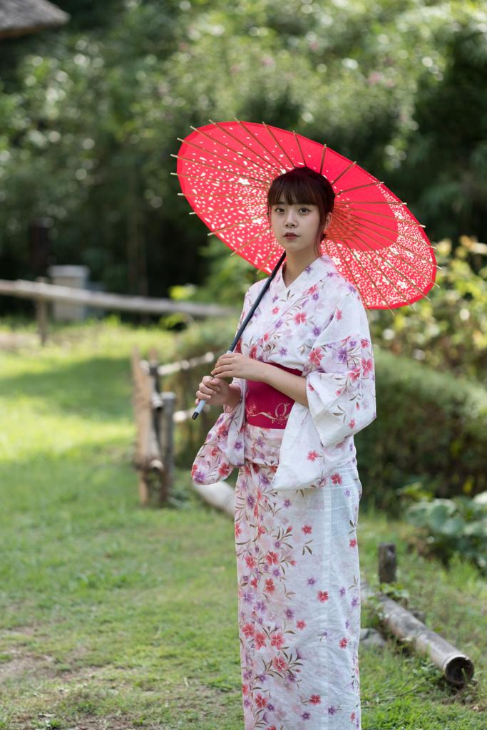 浴衣と日本の美しい女性8